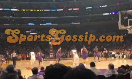 Brandon Ingram's Side Chick Raelynn Inez at Lakers game