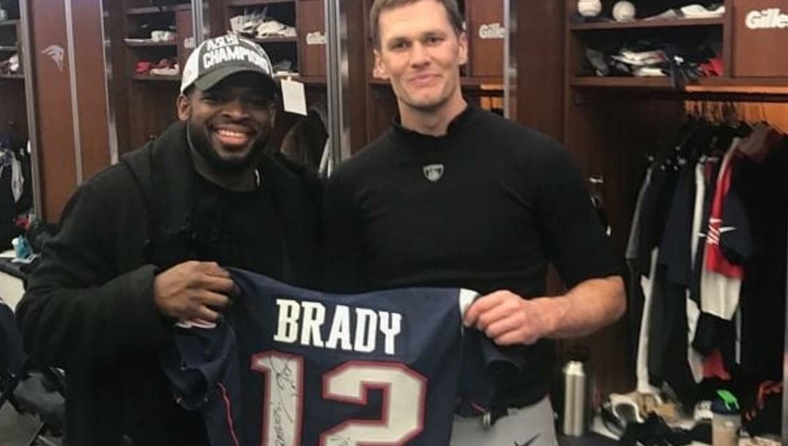 P.K. Subban is a Tom Brady Fanboy