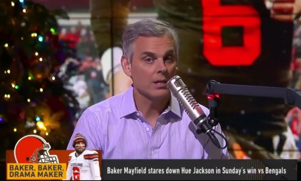 "Colin Cowherd Calls Baker Mayfield a ""Child Playing Quarterback"""