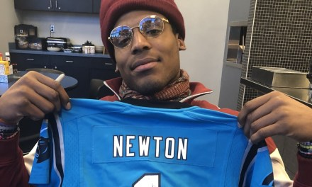 Cam Newton Sent a Six-Year-Old a Jersey after He Thought Cam Sent Him One for Christmas