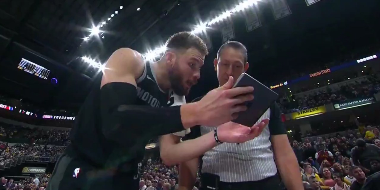 Blake Griffin Takes Complaining About Foul Calls to the Next Level