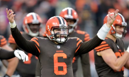 Baker Mayfield Set a New Rookie Record for Touchdown Passes