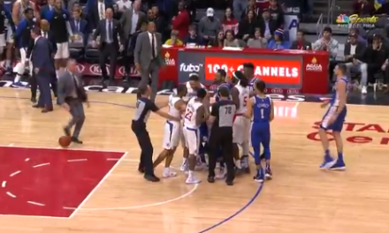 Jimmy Butler and Avery Bradley Shove Each Other During Sixers-Clippers Game, Get Ejected