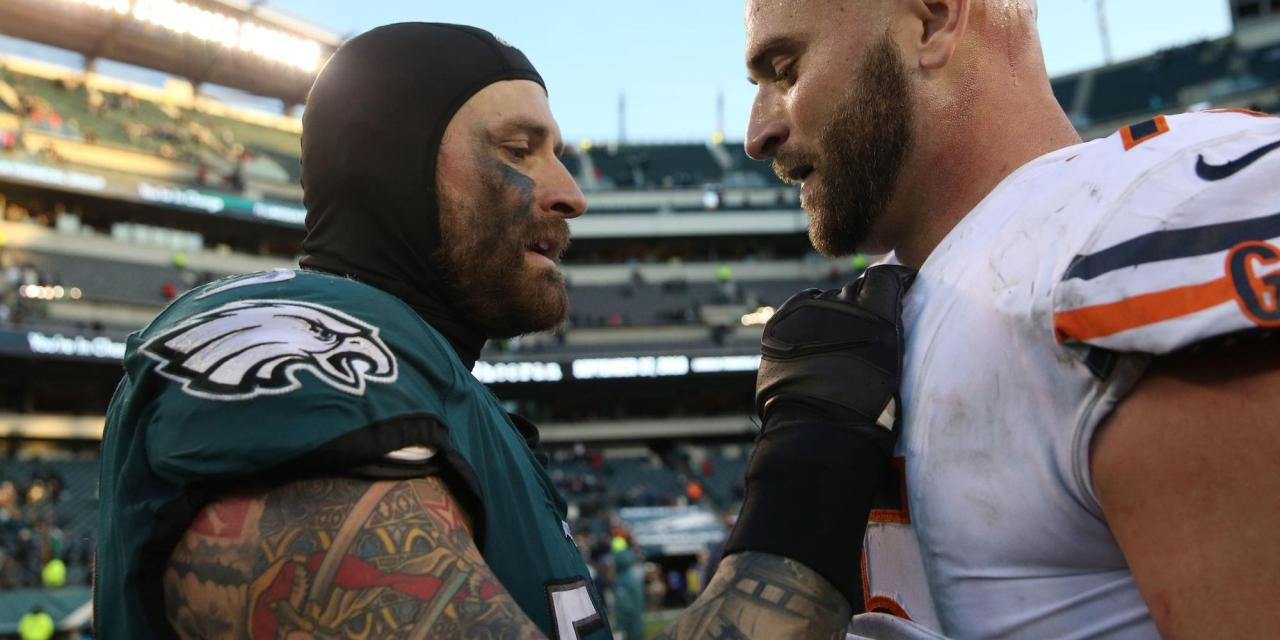 Kyle Long on Facing Brother Chris Long: 'We're Not Related'