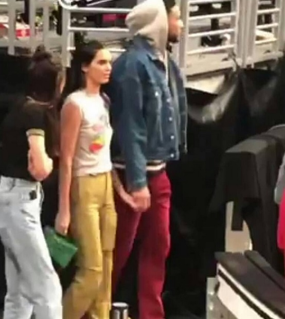 Ben Simmons and Kendall Jenner Took a Tour of the Staples Center After the Game