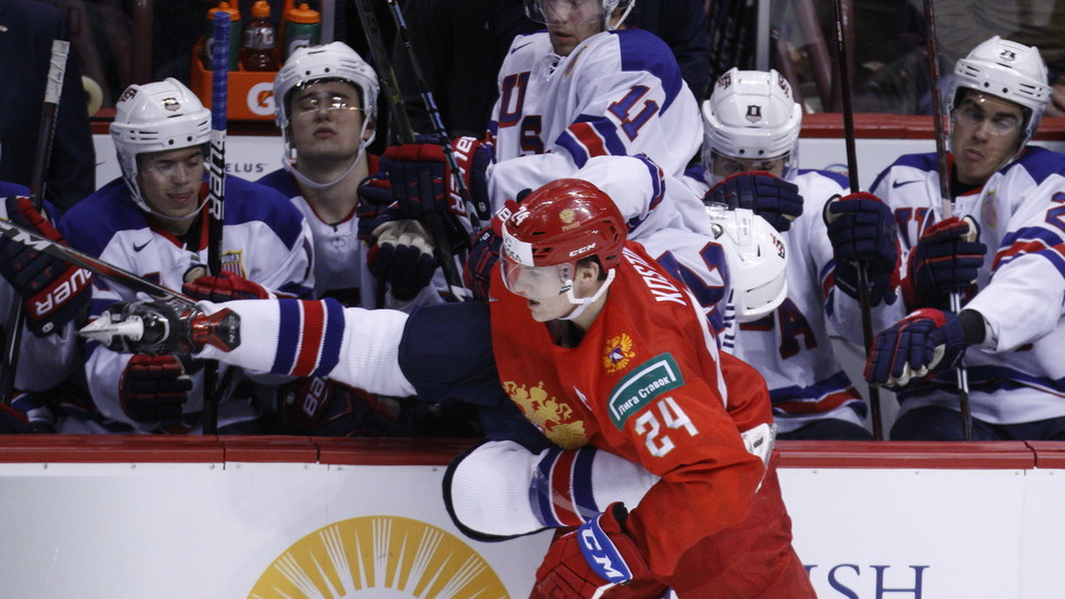 Russia Junior Hockey Captain Klim Kostin Mouths 'F*** You' to US Crowd After Loss