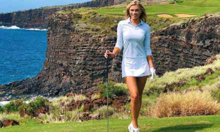 Golfer Katie Kearney Giving Off Marilyn Monroe Vibes From the Tee