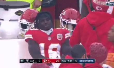 NFL Fines Chiefs Tyreek Hill $10k for Taunting