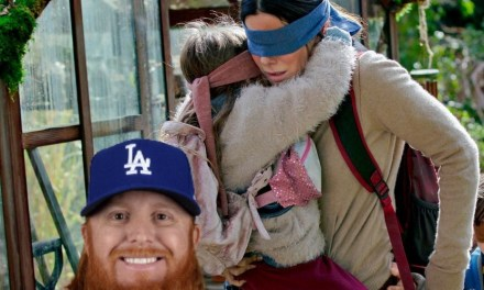 Justin Turner Performs The Bird Box Challenge During BP