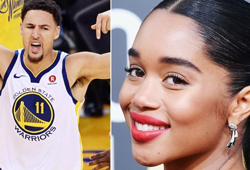 Klay Thompson Hit Up a Golden Globes After Party With His Girlfriend Laura Harrier