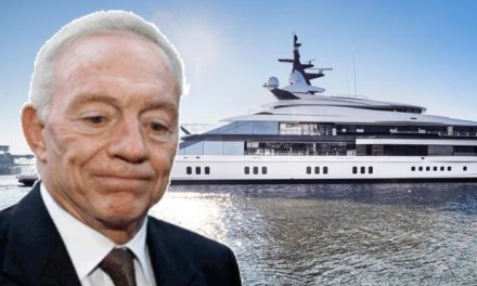 Check out Jerry Jones' $250 million Yacht Bravo Eugenia