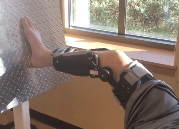 McKenzie Milton is Leg Pressing 40lbs Just a Little Over a Month after Almost Losing his Leg