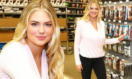 Kate Upton Returns Two Months After Giving Birth to Pitch Copper Fit