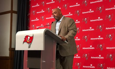 Bucs' Assistant Coach Harold Goodwin Has Strong Words About NFL's Hiring Practices