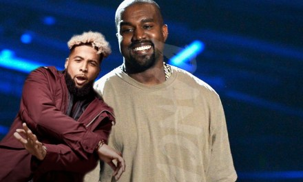 Kanye West and Odell Beckham Jr. Dined and Ditched at Vegas Restaurant?
