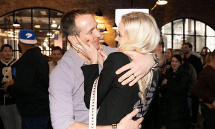 Drew Brees' Wife Threw Him a Surprise 40th Birthday Party after Saints Win Over the Eagles