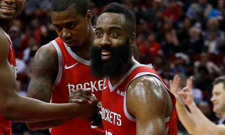 James Harden Records 17th Straight Game With Over 30 Points