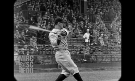 Footage of Babe Ruth and Lou Gehrig Batting Practice Surfaces