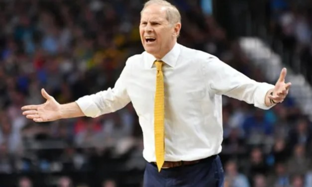 John Beilein Gets T'd Up During Upset Loss to Wisconsin