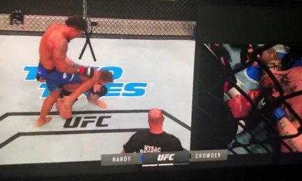 Greg Hardy Disqualified for Kneeing a Downed Opponent in the Head