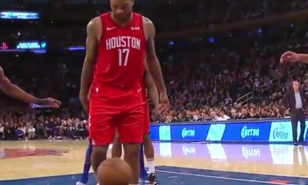 Rockets P.J. Tucker Forgot How to Play Basketball Late in Win Over the Knicks