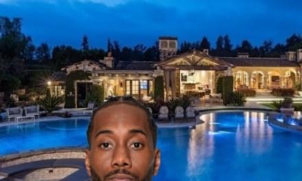 Kawhi Leonard Purchases $13.3 Million Home In San Diego