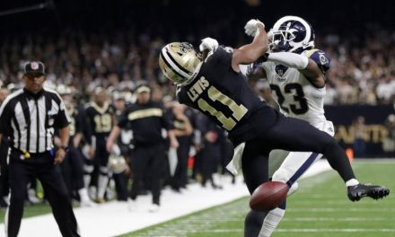 Rams CB Nickell Robey-Coleman Fined by NFL for Helmet-to-Helmet Hit on Saints WR Tommylee Lewis on Controversial No Call Play