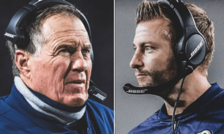Bill Belichick Has Been Sending Text Messages to Sean McVay All Season
