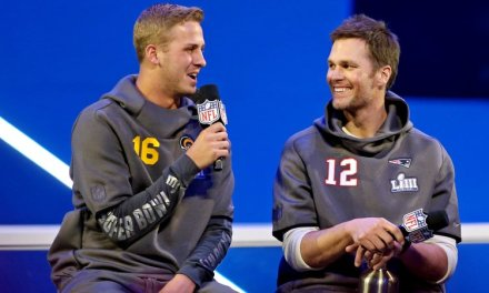 Tom Brady Refuses to Give Jared Goff Any Advice