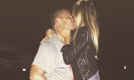 "Gronk's Girlfriend Camille Kostek Says She's Not Pregnant, But Wants to Keep ""Practicing"""