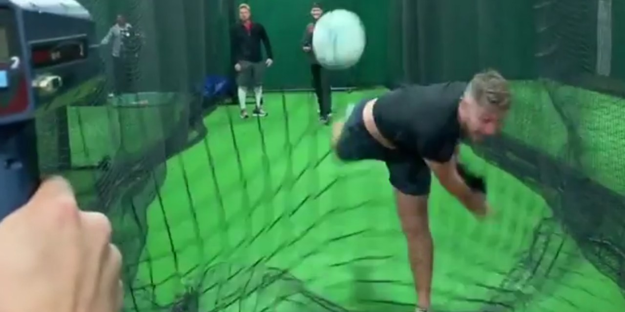 Houston Astros Pitching Prospect Throws a Ball Over 111 MPH