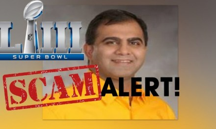 Man Swindled People Out of Nearly $1M in Super Bowl Scam