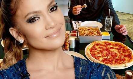 A-Rod and J-Lo Feast After Ten Day Challenge