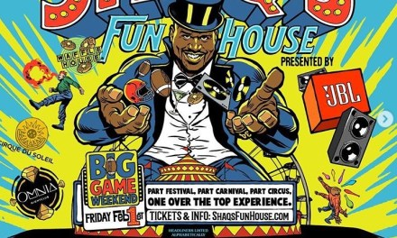 Shaq's Funhouse Superbowl Party Looked Pretty Crazy