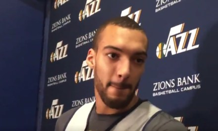 Rudy Gobert Cried Because He Didn't Make The All-Star Game