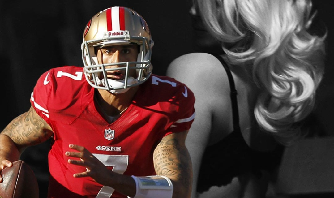 Courtney Stodden Shows Her Support for NFL Players