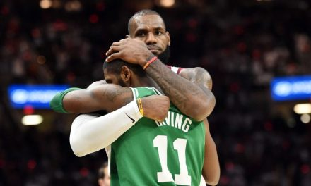LeBron James Says He And Kyrie Irving Are 'In A Good Place'