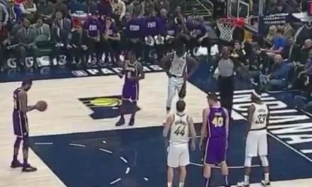 "Savage Pacers Fans Start a ""LeBron's Gonna Trade You"" Chant while Brandon Ingram Shot Foul Shots"