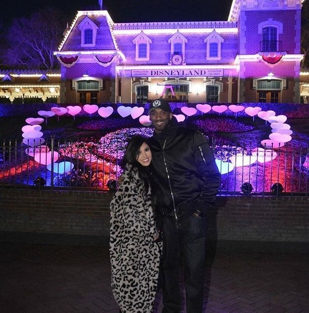 Kobe and Vanessa Bryant Do Sweethearts Night at Disney