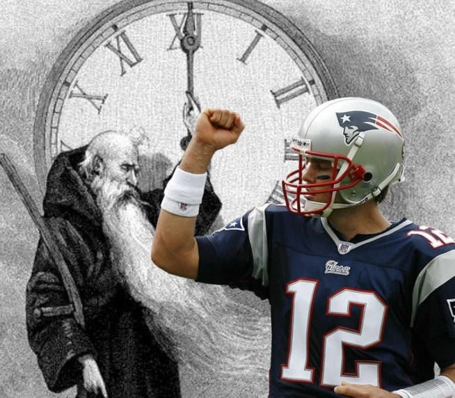 Tom Brady Has Words for Father Time