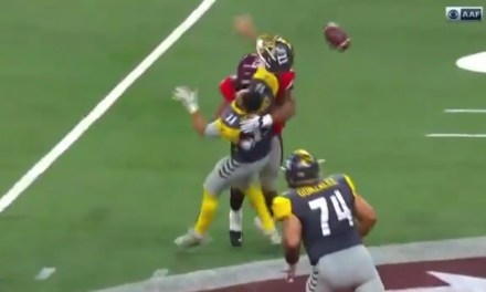 This Hit on QB Mike Bercovici Proves the AAF Isn't Worried About Concussions