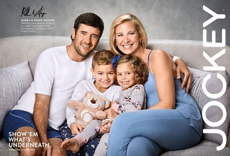 Bubba Watson And Former WNBA Wife Angie In New Jockey Ad