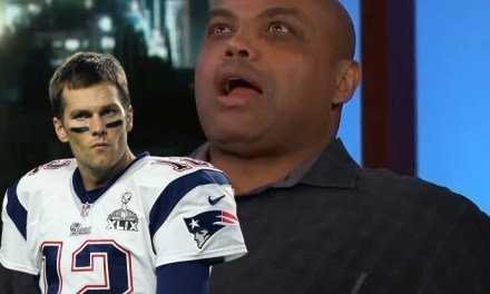 Charles Barkley Has a Serious Man Crush on Tom Brady