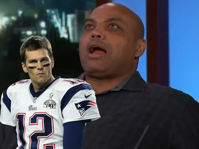 Charles Barkley Has a Serious Man Crush on Tom Brady