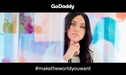 Ayesha Curry Debuts as Go Daddy's Spokesperson