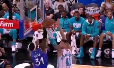 Former Slam Dunk Champion Terrence Ross Threw Down a Highlight Reel Dunk against the Hornets