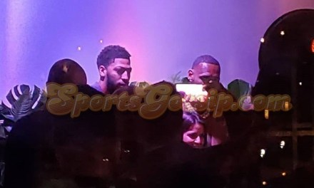 LeBron James and Anthony Davis Inseparable at All-Star Party