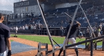 Yankees Fans are Going to Love Watching Aaron Judge Hitting Baseballs to the Moon in Spring Training Batting Practice