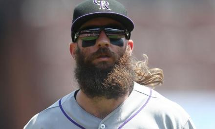 You Have to See Charlie Blackmon's Rockies Picture Day Photos