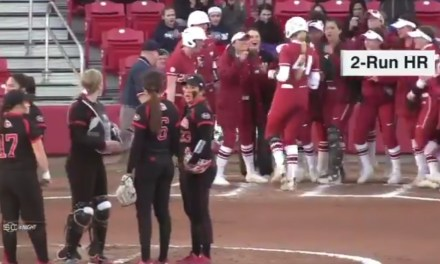 Arkansas Softball Player Hit for the Home Run Cycle